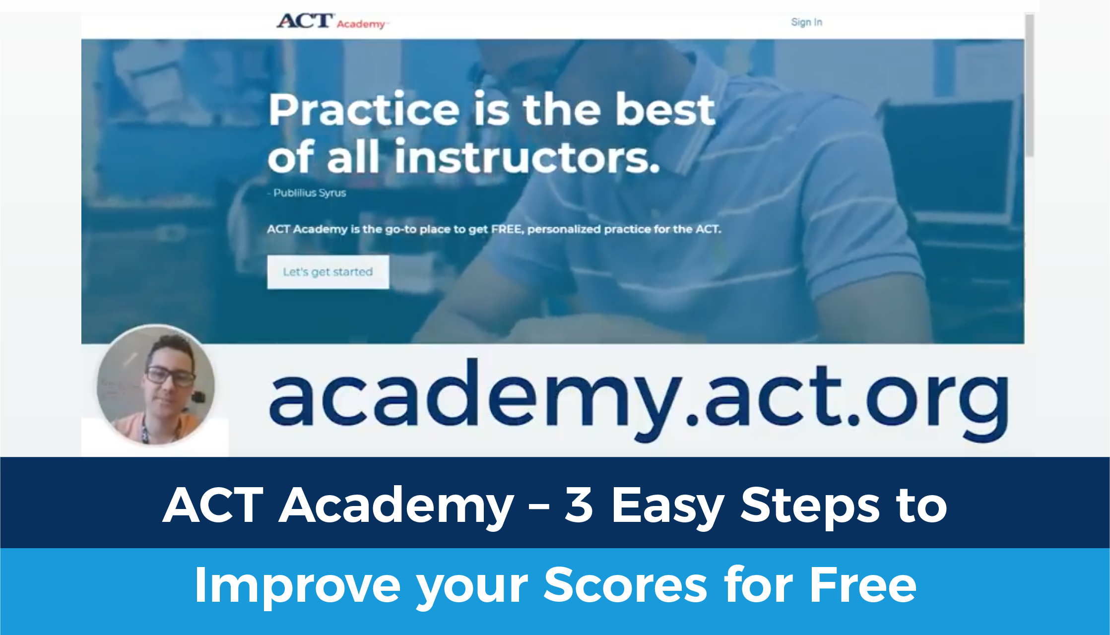 3 Easy Steps to improve your scores for free